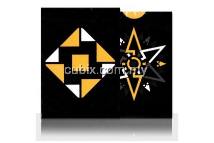 CARDISTRY FANNING (YELLOW) Playing Cards Bicycle Ellusionist Theory11