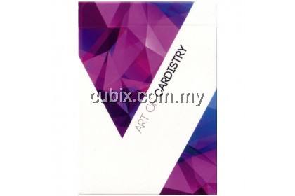 ART OF CARDISTRY (PURPLE) Playing Cards Bicycle Ellusionist Theory11