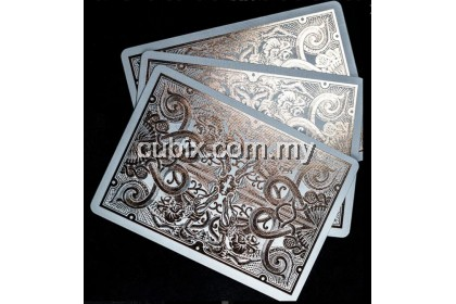 GATORBACKS ROSE GOLD Playing Cards Bicycle Ellusionist Theory11