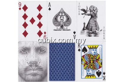 BLACK LIONS BLUE EDITION Playing Cards Bicycle Ellusionist Theory11