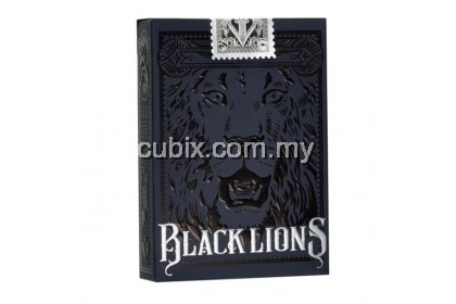 BLACK LIONS Playing Cards Bicycle Ellusionist Theory11