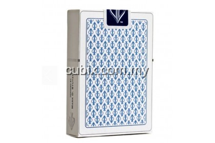 WHITE LIONS SERIES B BLUE Playing Cards Bicycle Ellusionist Theory11