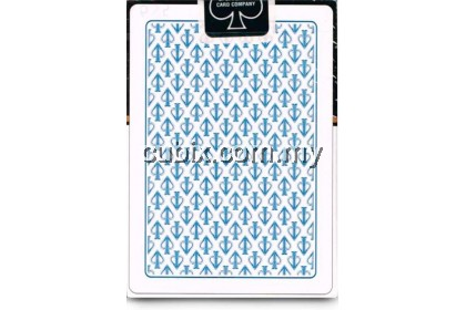 WHITE LIONS SERIES A BLUE Playing Cards Bicycle Ellusionist Theory11