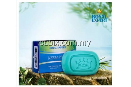 [READY STOCK] ROYAL EXPERT NEEM SOAP Deep Cleansing and Moisturizing