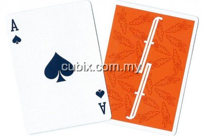 FONTAINE CARROTS V1 Playing Cards Bicycle Ellusionist Theory11 Cardistry