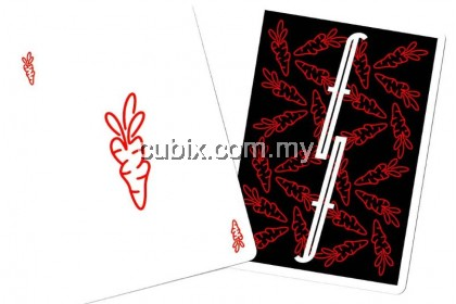 FONTAINE CARROTS V3 RED Playing Cards Bicycle Ellusionist Theory11 Cardistry