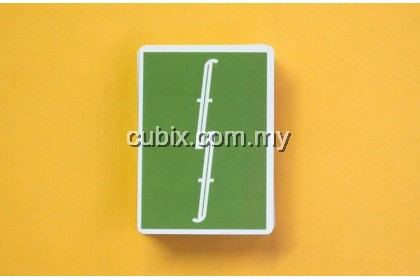FONTAINE GREEN Playing Cards Bicycle Ellusionist Theory11 Cardistry