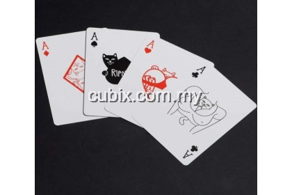 FONTAINE RIPNDIP V1 Playing Cards Bicycle Ellusionist Theory11 Cardistry
