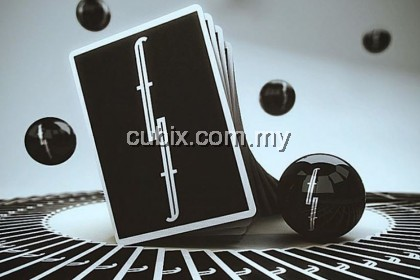FONTAINE BLACK Playing Cards Bicycle Ellusionist Theory11 Cardistry