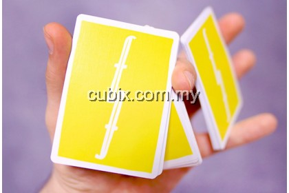 FONTAINE CHINATOWN YELLOW Playing Cards Bicycle Ellusionist Theory11 Cardistry