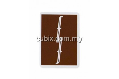 FONTAINE CHOCOLATE BROWN Playing Cards Bicycle Ellusionist Theory11 Cardistry