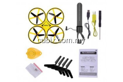 FIREFLY DRONE Anti-collision Gravity Sensing Airplane Intelligent Remote Control Bright RC Quadcopter Aircraft Drone
