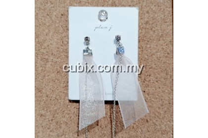Lace Earring Anting Retro Style Folkcustom Fashion Crystal
