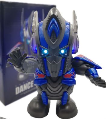 Dance Hero Super Hero Transformer Optimus Prime Kids Baby Electric Dancing Toys Light Music