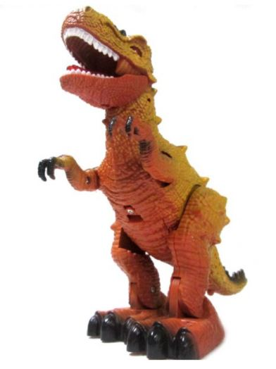 Walking & Roaring T-Rex Dinosaur Toy With Light Kids Toys