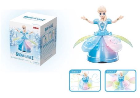 Frozen Elsa Dancing Girl Snow Dance Toy
